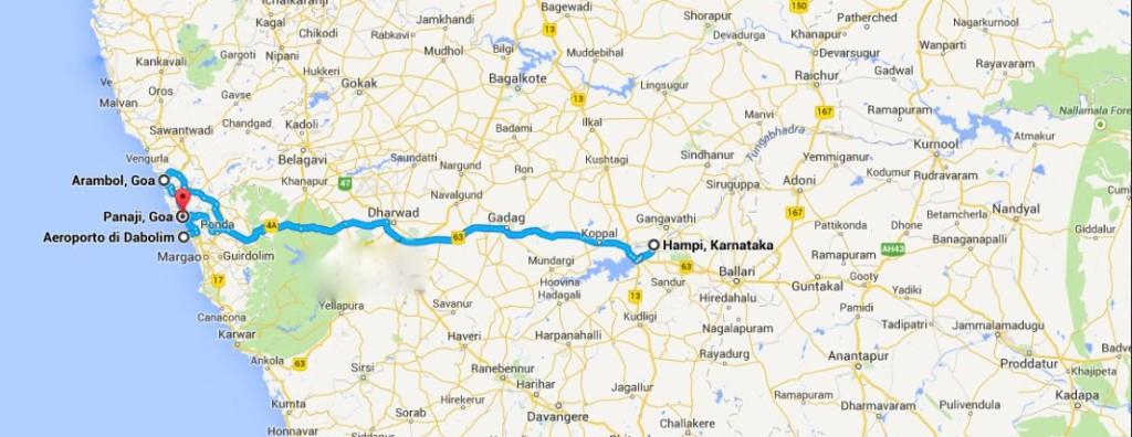 india itinerario