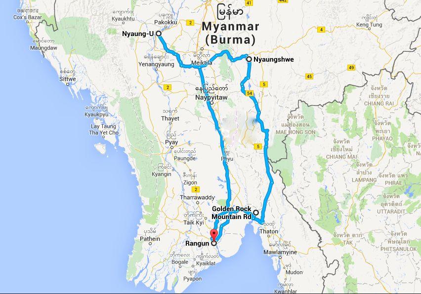 birmania riassunto