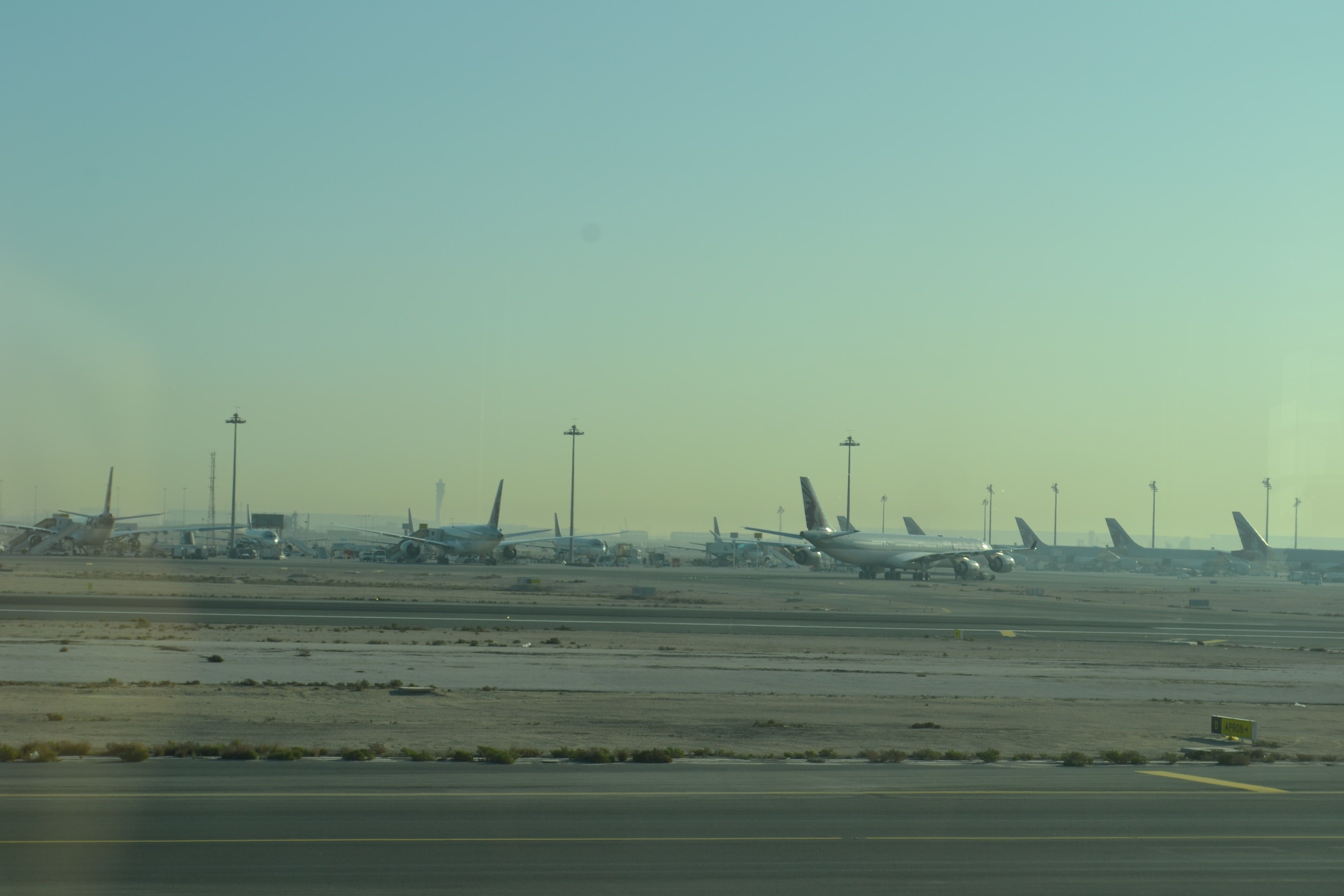 Aeroporto Del Qatar : Qatar aeroporto doha internazionale hamad doh
