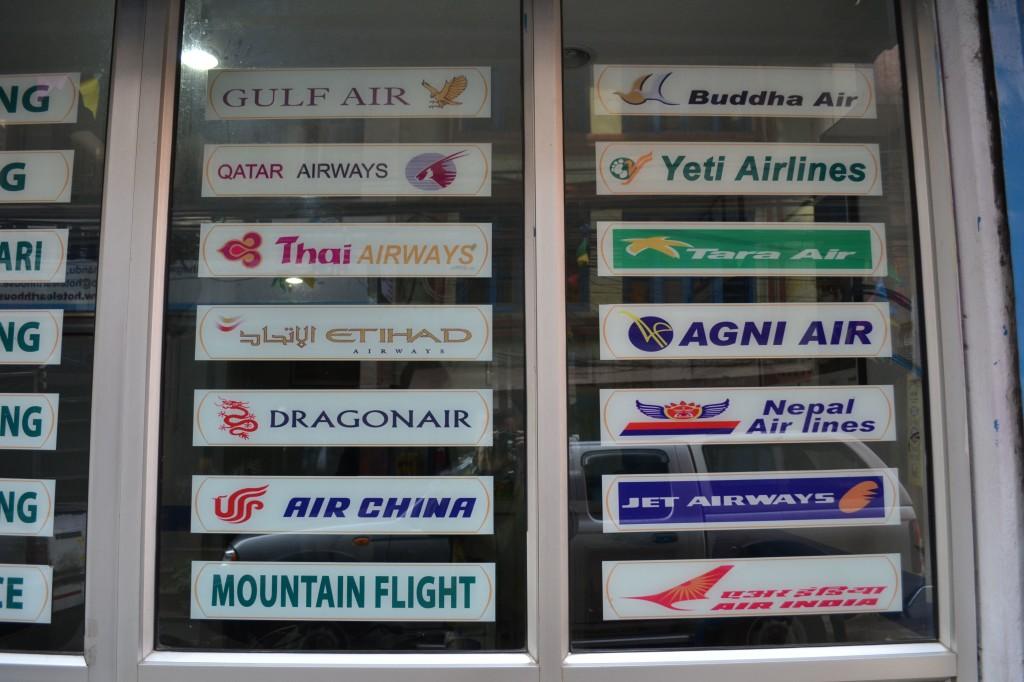 nepal aeroporto