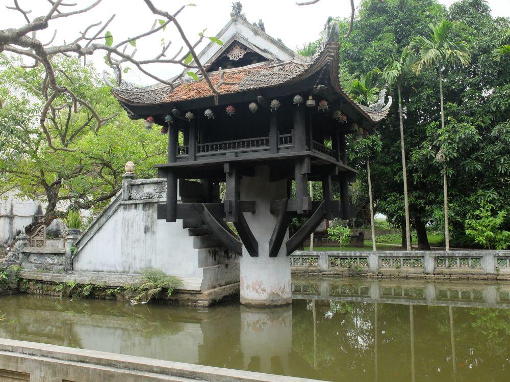 Pagoda palafitta