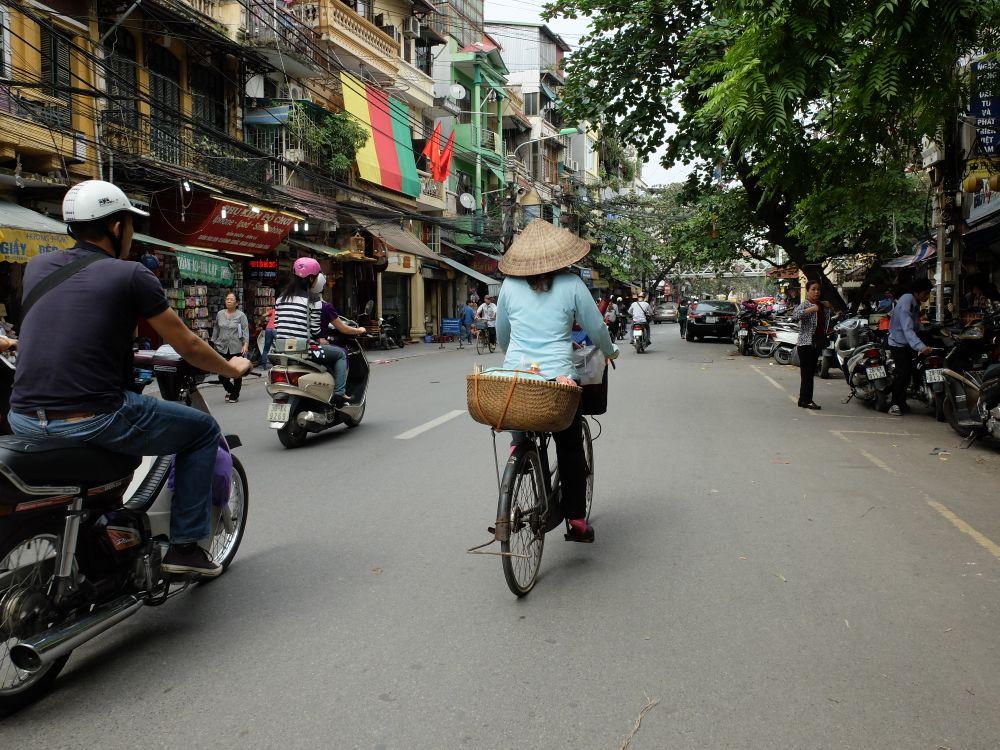 Quartiere vecchio Hanoi
