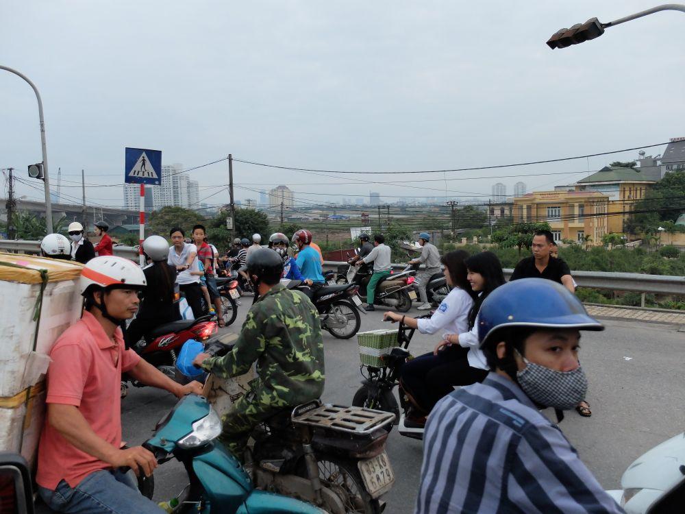 Traffico Hanoi