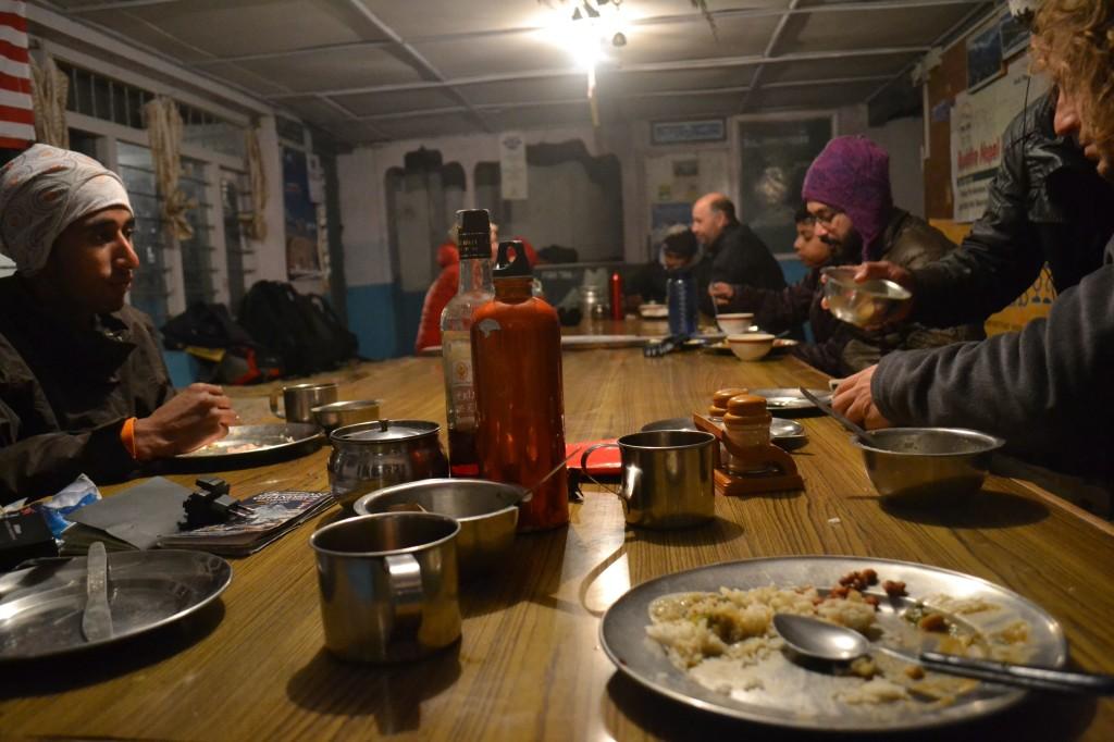 ristorante trekking annapurna 4