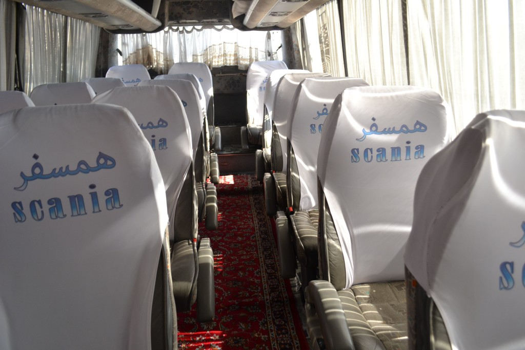 kashan by bus