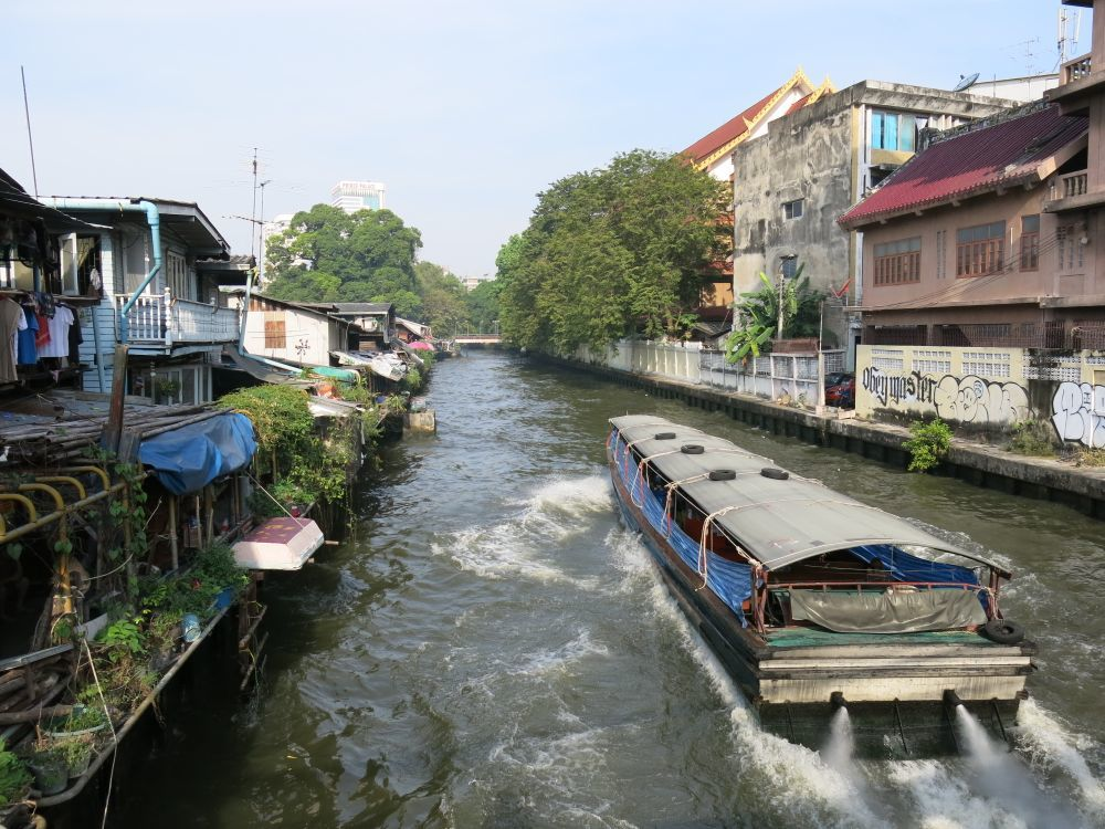 Thailandia trasporti battelli