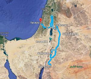 Medio Oriente itinerario viaggio