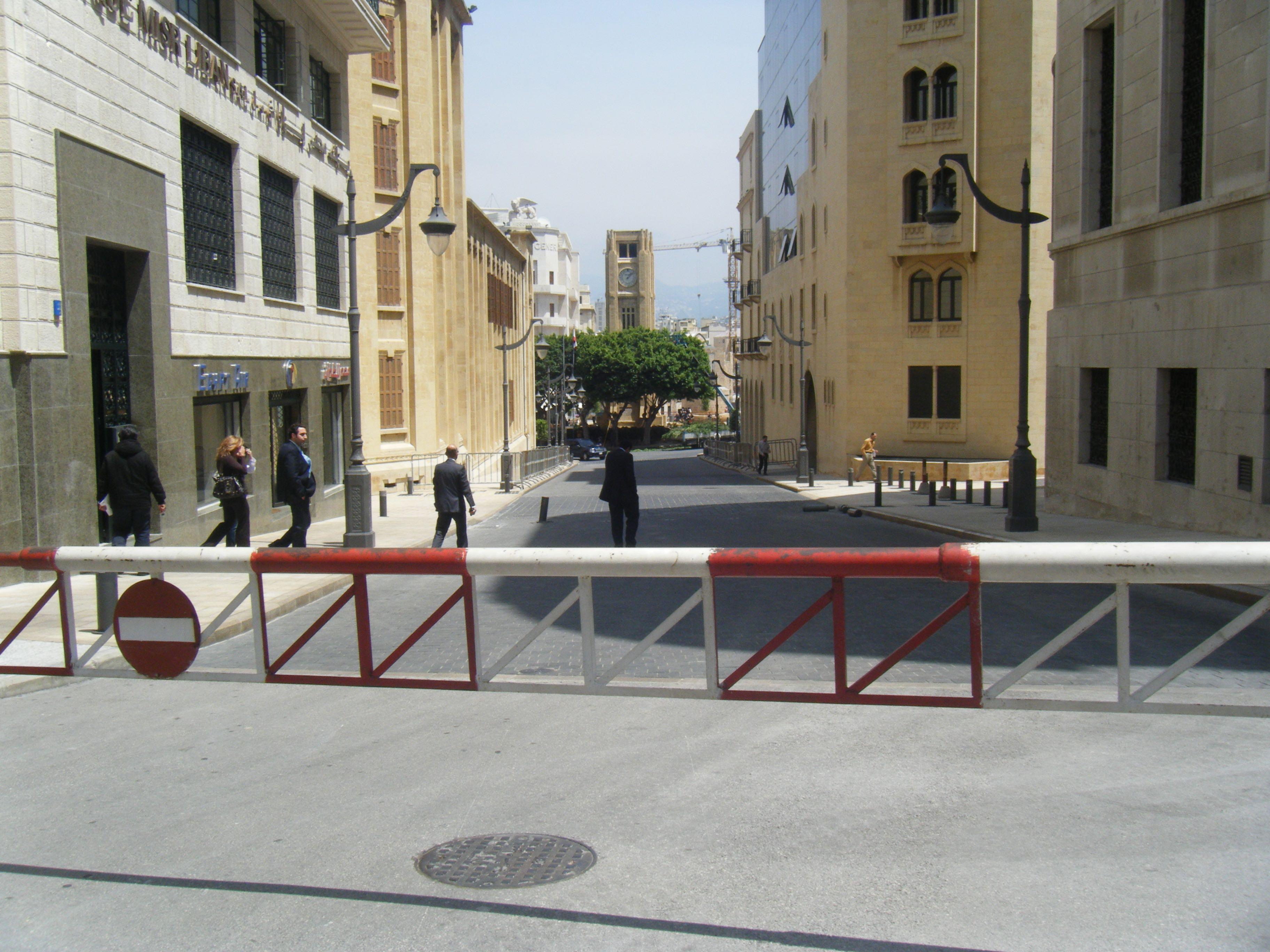 libano come arrivare