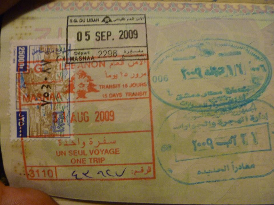 libano visto