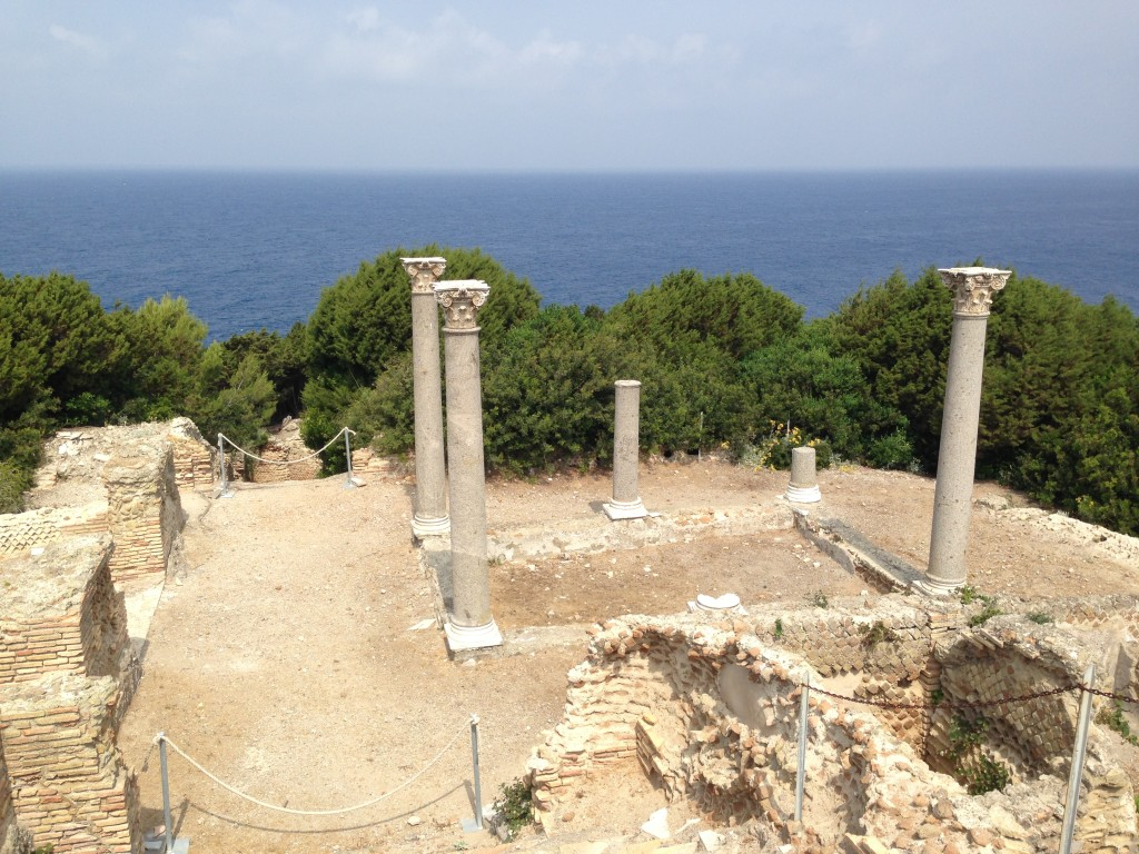 Casa romana isola giannutri