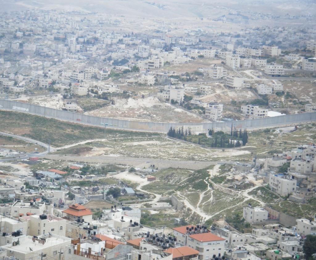 gerualemme muro palestina