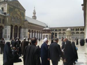 Damasco cosa ho fatto - La moschea