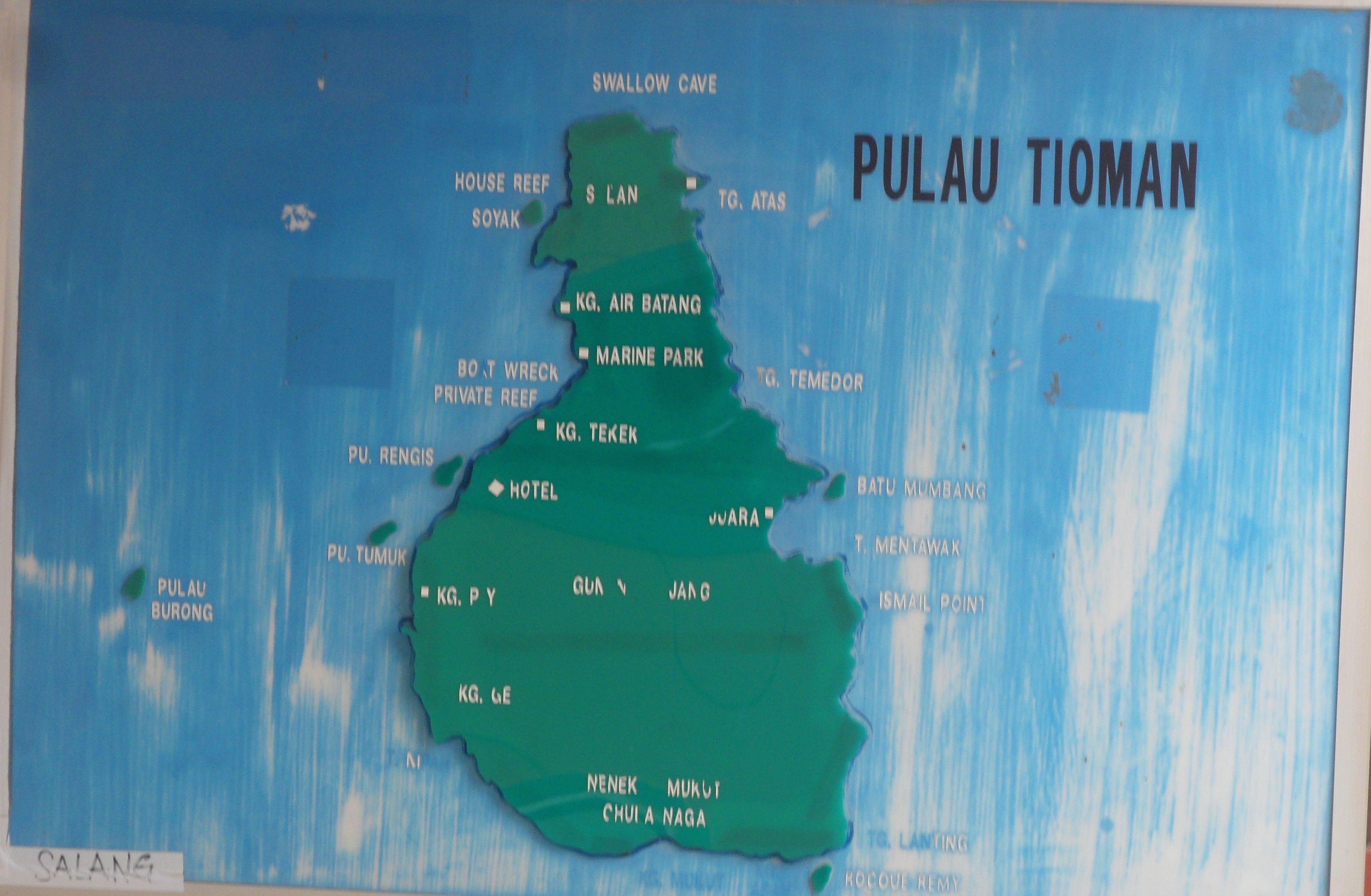 Pulau tioman stata definita una delle pi belle isole