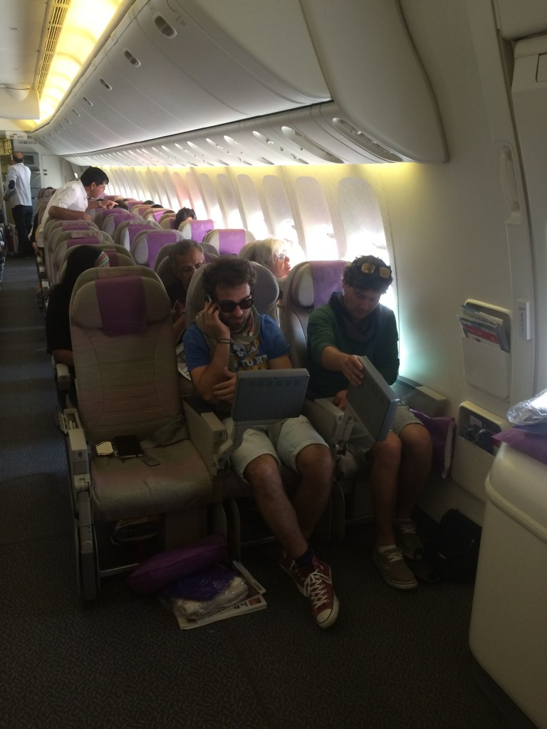 singapore partenza