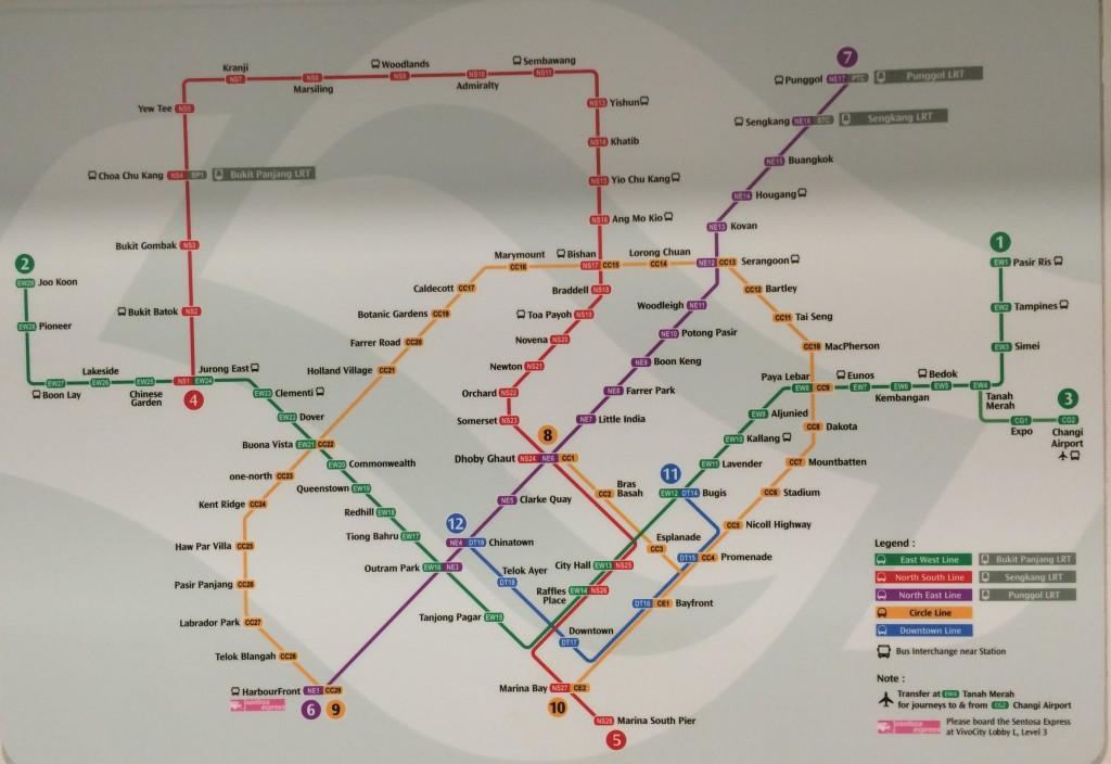 singapore trasporti