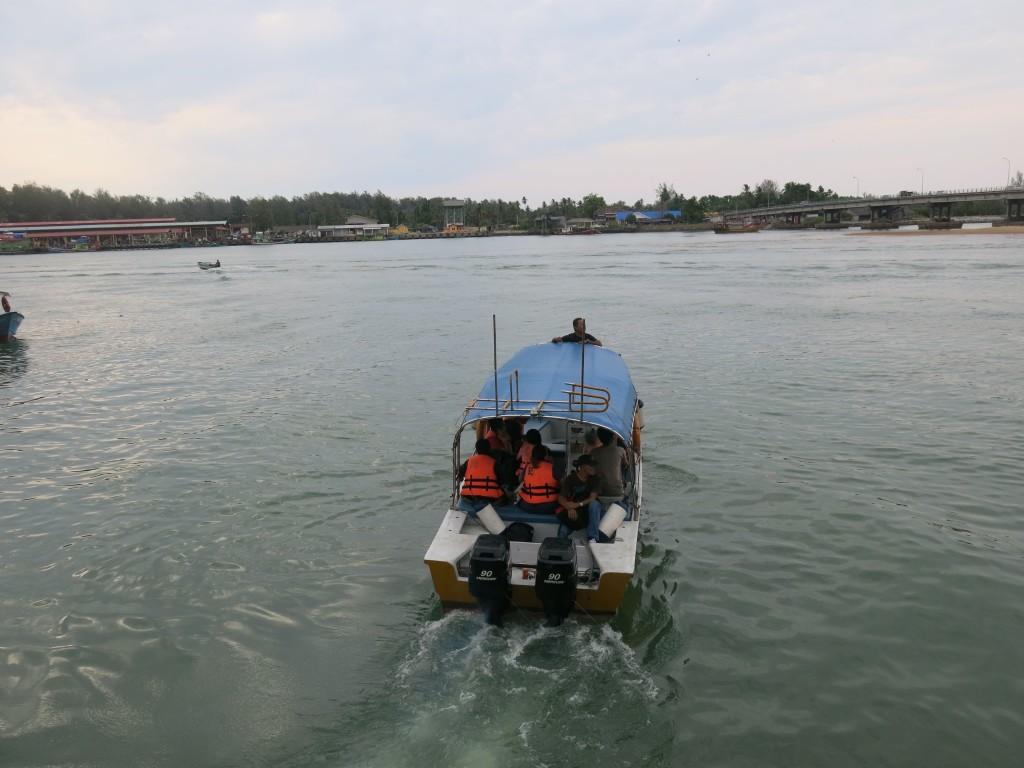 Perhentian Island boat
