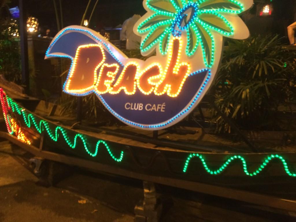 beach club caffe kuala