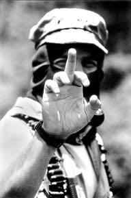 CHIAPAS1994.Subcomandante Marcos.Foto:Raul Ortega.