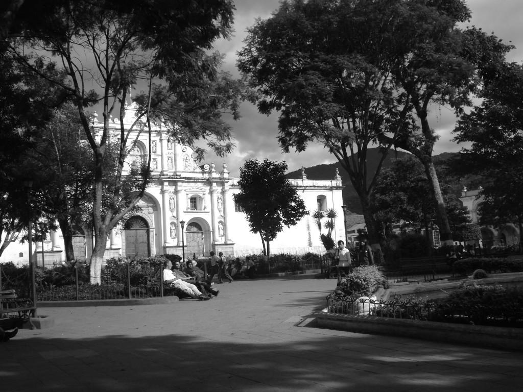 antigua plaza major