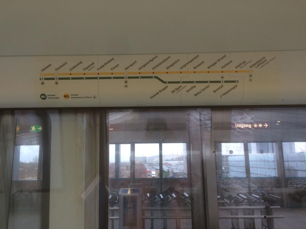 aeroporto copenaghen metro