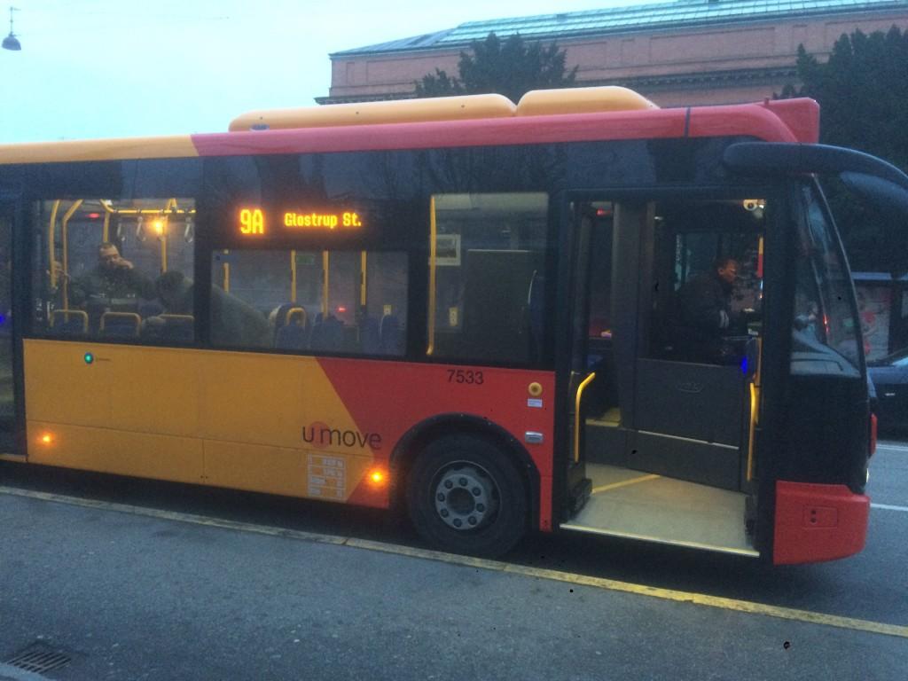 copenaghen bus