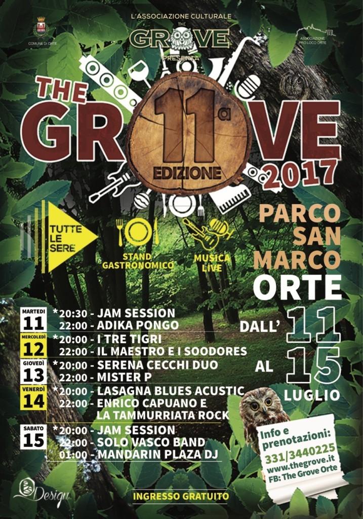 """Programma """"The Grove Festival"""""""