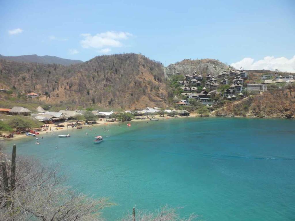 taganga colombia playa grande