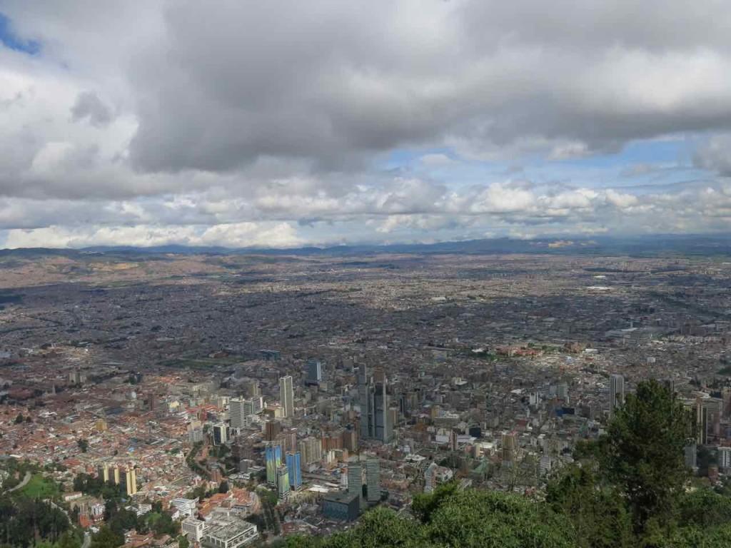 bogota cerro monserrate