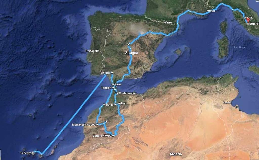 itinerario marocco