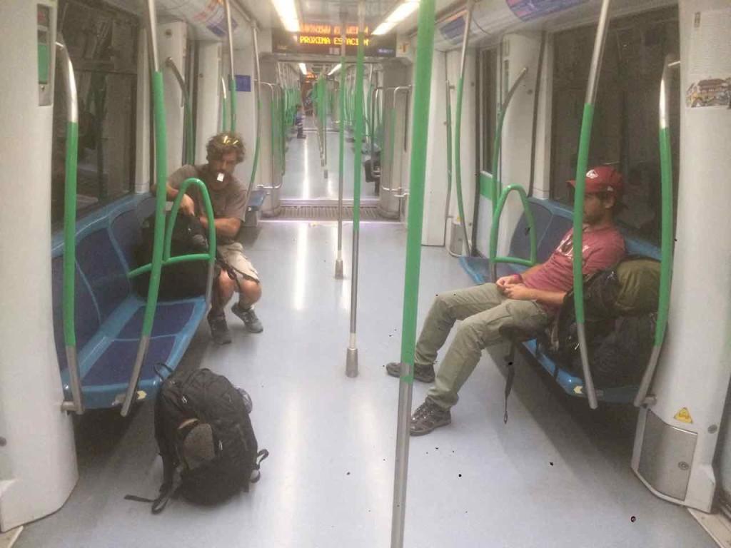 metro aeroporto di madrid