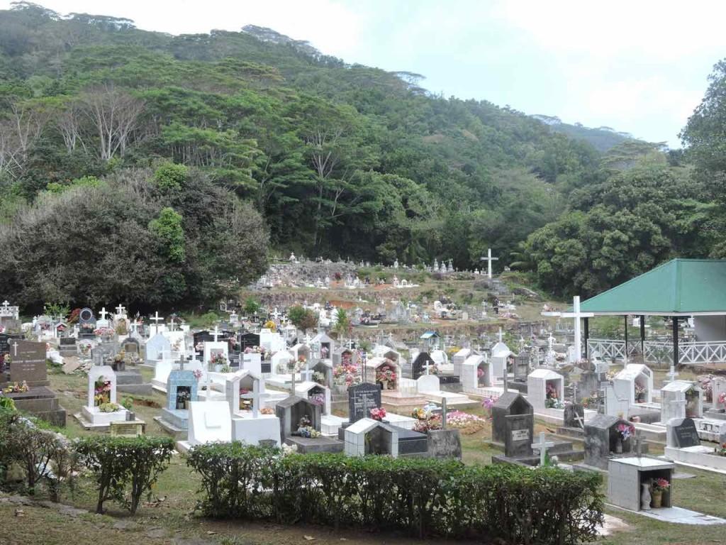 Il Cimitero di La Digue