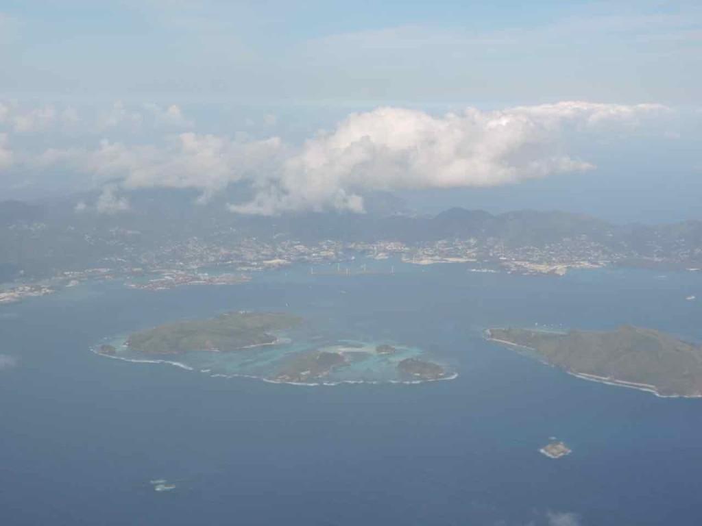 Le Seychelles viste d'alto