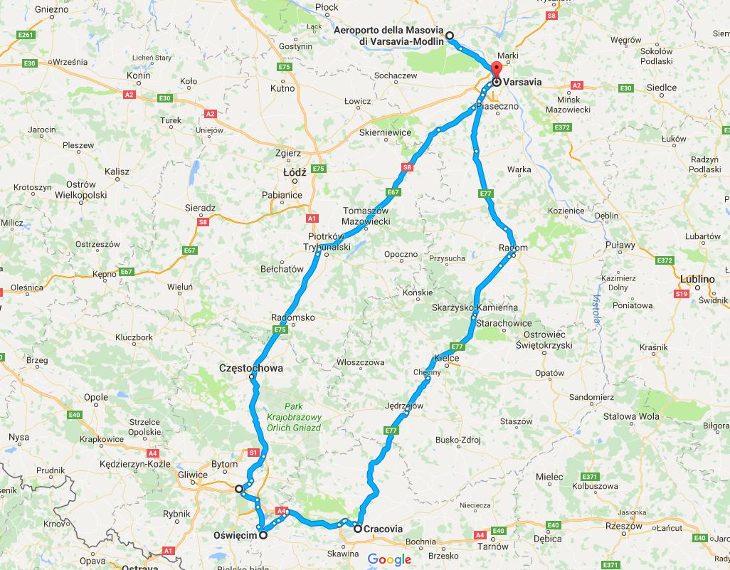 Polonia itinerario costi e mappe del viaggio in polonia - Agenzie immobiliari polonia ...