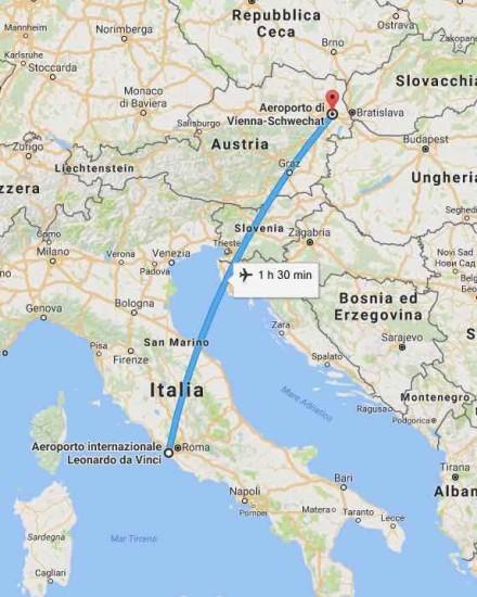 roma-vienna-aereo