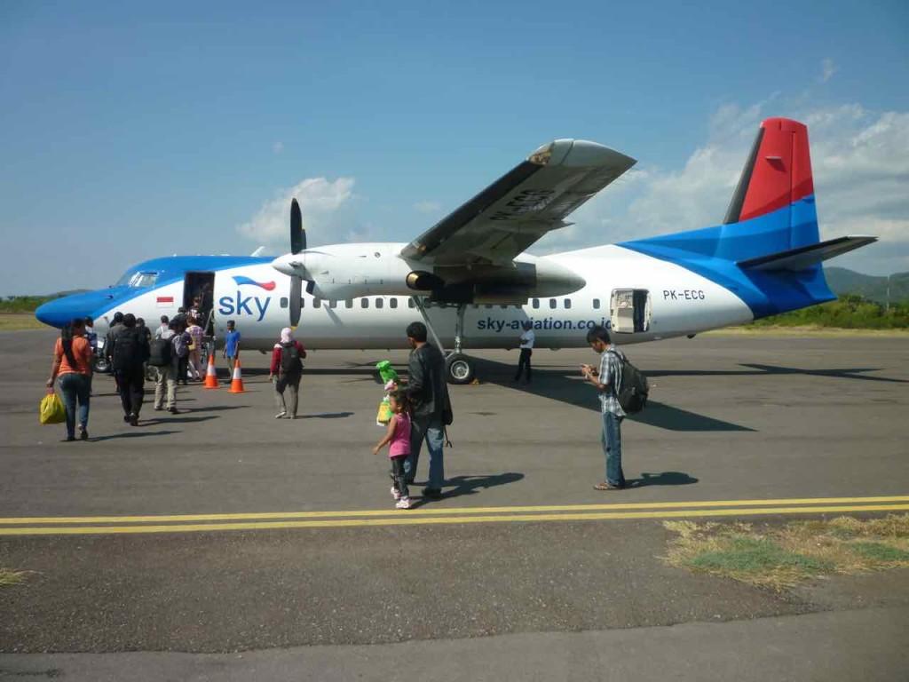 aeroporto labuan bajo indonesia