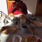 La colazione allo Serrafon B&B