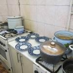 La cucina del cafe Mazza