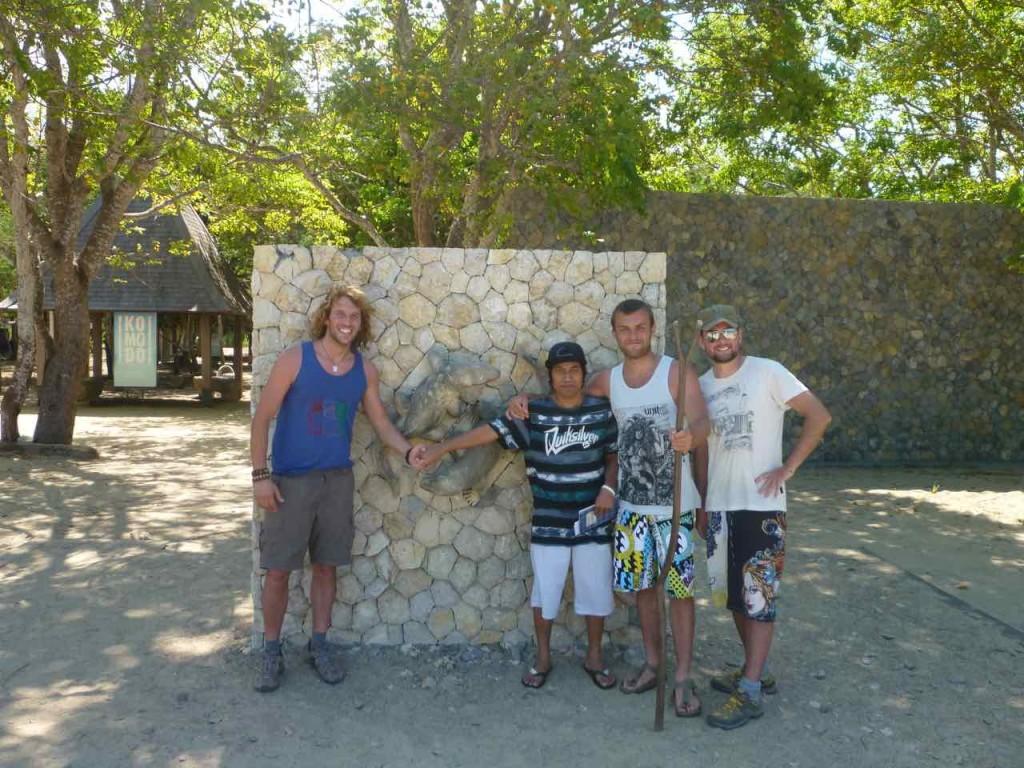 L'ingresso del Parco di Komodo