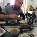 i piatti dei ristoranti del mercato