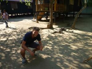 I Draghi di Komodo sull'isola di Rinca