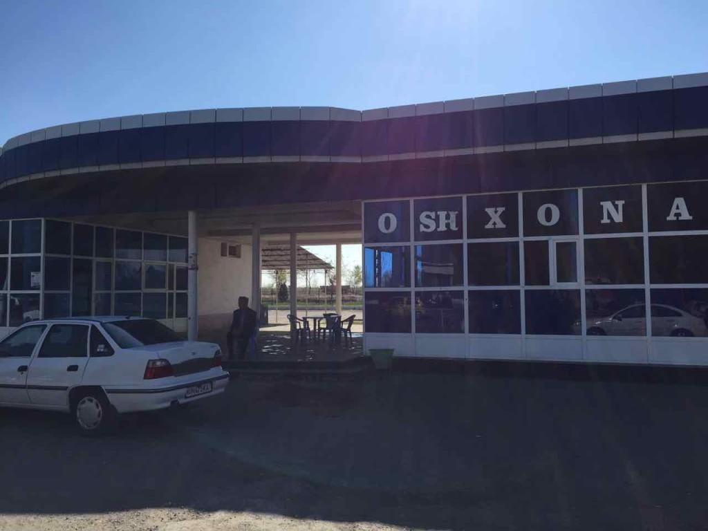 La stazione dei Taxi collettivi di Bukhara