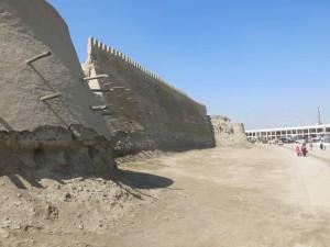 Bukhara diario viaggio - Le antiche mura