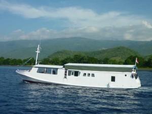 Una barca quasi simile alla nostra