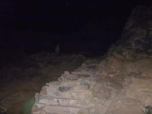 L'inizio del trekking sul Monte Sinai