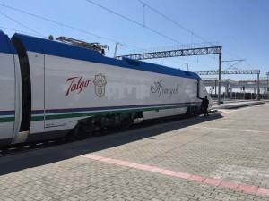 Ukbekistan in Treno - L'Afrosiab