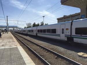 uzbekistan come arrivare treno