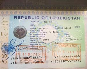 Uzbekistan Visto