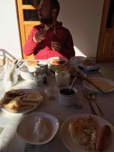La colazione del Serrafon B&B