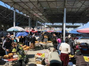 Samarcanda diario viaggio - Il Bazar dove abbiamo cambiato i soldi