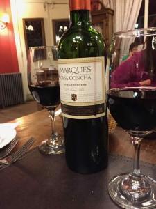 Il vino Cileno